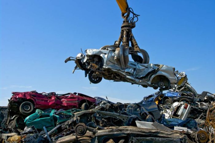 Scrapping your old car