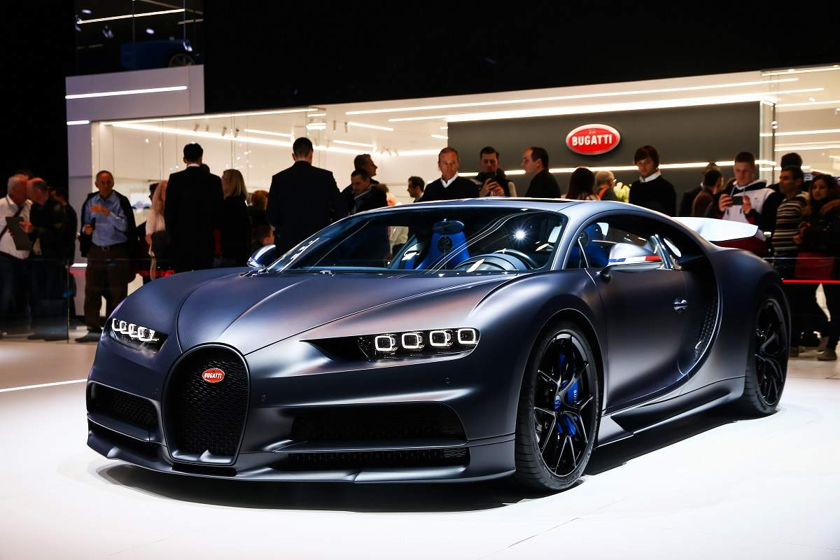 Influential Cars - Bugatti Chiron